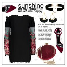 """Sunshine on My Shoulders"" by pat912 ❤ liked on Polyvore featuring Raye, Sole Society, Vince Camuto, Miss Selfridge, polyvoreeditorial, offshoulderdress and blinddate"