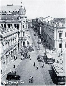Rua Chile antiga