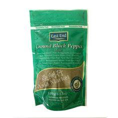 Buy East End Ground Black Pepper 100g   Pepper Powder   Asia Market