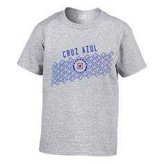 Playera de Fútbol  del Equipo Cruz Azul Logo Centro
