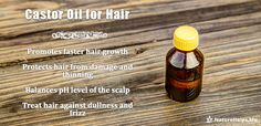#Castor #oil benefits for Hair  #nature #health #remedies #herbal #Organic #homemade #mask #natural #beauty