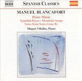 Manuel Blancafort: Complete Piano Music, Vol. 1 [CD], 09495197