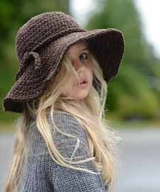 Wanderlust Brim Hat children pattern available at LoveCrochet. Find more patterns by The Velvet Acorn and share your own projects at LoveCrochet.Com!