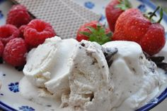 Desserter, is og fromage Ice Cream Recipes, Toffee, Sorbet, Delicious Desserts, Sweets, Snacks, Icecream, Cakes, Tips