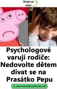 Psychologové varují rodiče: Nedovolte dětem dívat se na Prasátko Pepu Bb, Anatomy