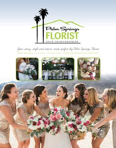 Palm Springs Florist in the Fall/Winter publication of The Knot magazine. Making your destination weddings amazing. The Knot Magazine, Destination Weddings, Palm Springs, Wedding Flowers, Fall Winter, Wedding Ideas, Amazing, Fun, Style
