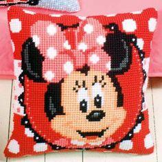 Набор для вышивания подушки  Vervaco Мышка Минни PN-0144828