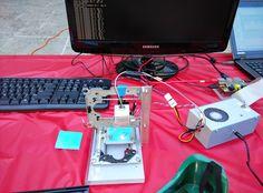 fun of DIY: A Raspberry Pi controlled mini CNC Laser engraver [last update Jan 18,2014]