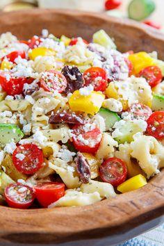 Mediterranean Tortellini Pasta Salad   Recipe   Tortellini Pasta ...
