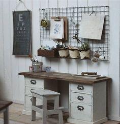 Miniature desk♡ ♡ By slallaheikkila