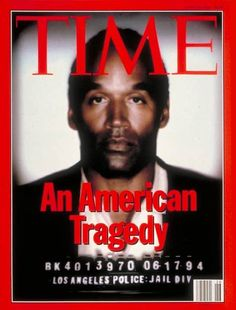 Time, 1994  Time was accused of racism when it darkened an image of O.J. Simpson's mugshot. The magazine said they were taking creative license to make the image more compelling. Time then issued a second cover without the controversial image.