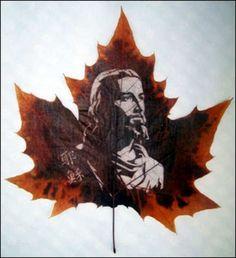 leaf carving | Wonderful art Leaf Carving-Wonrous