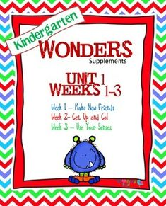 If you are already using or you are new to the Wonders Reading Program, this 93 page resource packet is for you. You'll have help with word work center printables, anchor charts, writing activities, high frequency word practice, an abundance of letter sound activities, and much, much more.Check the table of contents below and our preview to see exactly what is included in the packet.