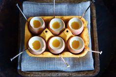 Coconut Panacotta and Passion Fruit Eggs
