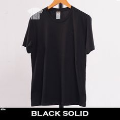 PREMIUM BLANK TSHIRT COTTON COMBED SUPERSOFT 100% Cotton Combed Type 30s REACTIVE HIGH QUALITY READY TO WEAR Short Sleeve Dresses, Dresses With Sleeves, Ready To Wear, Type, Cotton, T Shirt, How To Wear, Black, Fashion