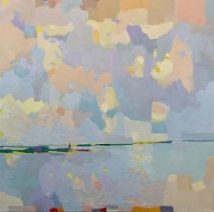 Maine artist Henry Isaacs paints with energy, passion, and self-assurance. His style—broken brushwork and a palette of delicate blues, greens, pinks Impressionist Paintings, Botanical Art, Ciel, Cool Artwork, Painting Techniques, Landscape Art, Abstract Art, Fine Art, Drawings