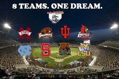 Eight Teams.  One Dream.  Go Dawgs!