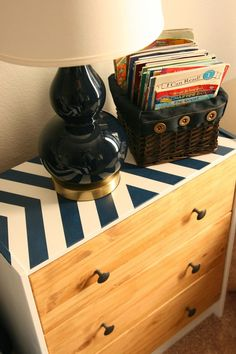 IKEA hack- I like this idea for our homeschool shelf. The inside is not, but the top needs painted!