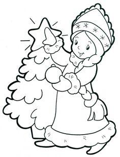 новогодние рисунки для детей - Поиск в Google