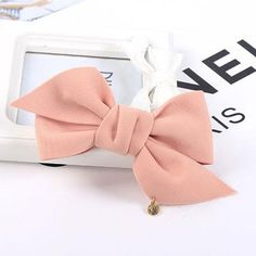 Fashion Arrival Big Solid Cloth Bows Hair Clips Hairpins Hair Accessories for Women Girl Wedding Hair Jewelry Headwear