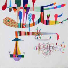 Embroidery art - Takashii Wasaki