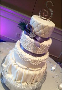 Made with Satin Ice Rolled Fondant by Anna Cakes, Florida.
