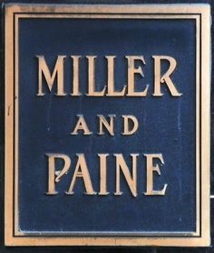 Lincoln, NE Miller and Paine Department Store plaque by army.arch, via Flickr