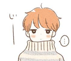 Boy and girl Sticker winter sticker Kawaii Doodles, Kawaii Art, Kawaii Drawings, Easy Drawings, Boy And Girl Drawing, Cute Boy Drawing, Pretty Art, Cute Art, Winter Drawings
