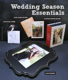 Ready or not, wedding season is upon us. Here are our must-have products for the pro wedding photographer.