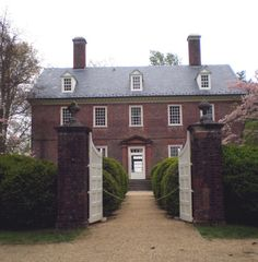 Berkeley Plantation, Charles City County, #VA, site of first official Thanksgiving in America.  frontiertraveler.com