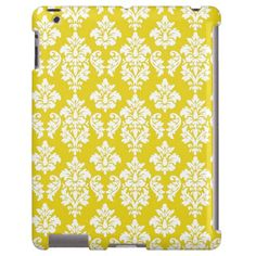 Girly Yellow White Vintage Damask Pattern online after you search a lot for where to buyDeals          Girly Yellow White Vintage Damask Pattern Here a great deal...