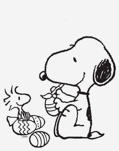 Dibujos para colorear. Maestra de Infantil y Primaria.: Snoopy para colorear. Snoopy coloring pages.