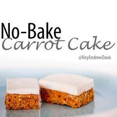 Raw Vegan Recipe: Carrot Cake with Cashew Cream Icing | Vitacost.com Blog