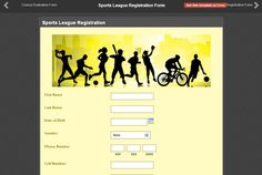 Registration Form, Online Form, Submissive, First Names, Touch, Live, Sports, Hs Sports, Sport