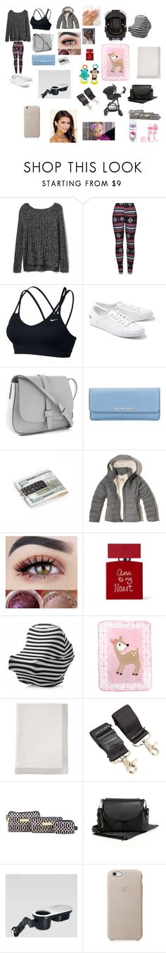 """""""Shopping at Target with daughter"""" by imvugirl9 on Polyvore featuring Gap, WithChic, NIKE, Lacoste, MICHAEL Michael Kors, Hollister Co., Bella Freud, Luvable Friends, Mamas & Papas and Maxi-Cosi"""