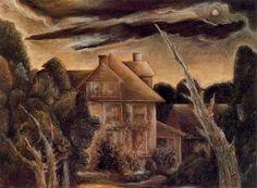 The house next door - (Albert Bloch)
