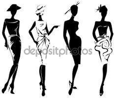 Resultado de imagem para desenho para moda feminina