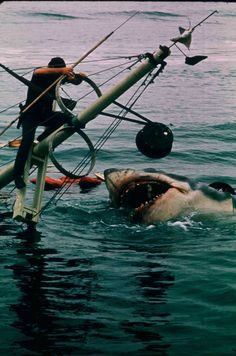 """""""Bruce,"""" the mechanical shark from """"Jaws."""""""