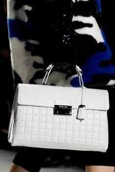 Michael Kors Fall 2013 RTW - White Handbag
