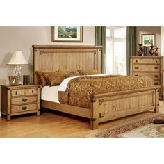 Shop for Furniture of America Sierren Country Style 2-piece Bedroom Set. Get free delivery at Overstock.com - Your Online Furniture Shop! Get 5% in rewards with Club O!