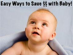 Baby Money Saving Tips