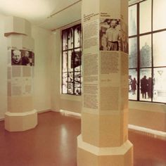 German Resistance Memorial Center -Impressions. The photos show selected topics of the permanent exhibition Resistance to National Socialism.