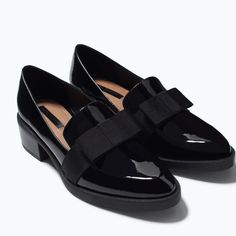 ZARA - SHOES & BAGS - MOCCASIN WITH BOW