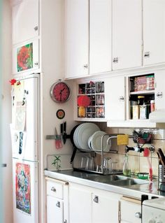 Swedish kitchen with a mix of open and closed storage   live from IKEA FAMILY