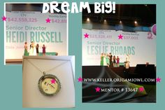 MAKE MONEY WITH ORIGAMI OWL CUSTOM JEWELRY! Meet 2 millionaires who dared to DREAM BIG! Who's with me?! Let's do this!! Join my team today!! I'll even help you with purchasing your starter kit! Contact me @ heidilou35@yahoo.com or on Facebook @ www.facebook.com/kellercharm #MILLIONAIRES #DREAMBIG #ORIGAMIOWL #MILLIONDOLLARPARLIAMENT #EXTRAINCOME #CAREER