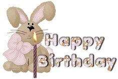 Animated Birthday Clip Art | Happy Birthday pictures that move, animated cake and party clip art
