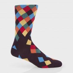 Paul Smith Men/'s Socks Jack Stripe Socks //BNWT