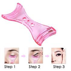 Wholesale Anti-tremor Eyeliner Card Aid Tool Helper Beauty Gadgets Only $0.92 Drop Shipping   TrendsGal.com