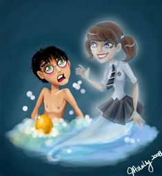 hary and myrtle - redo by blastedgoose on deviantART