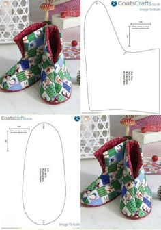 Best 12 Baby boots – Page 498492252485376872 Sewing Projects For Beginners, Knitting Projects, Sewing Tutorials, Sewing Dolls, Sewing Clothes, Bag Patterns To Sew, Sewing Patterns, Sewing Slippers, Felted Slippers Pattern